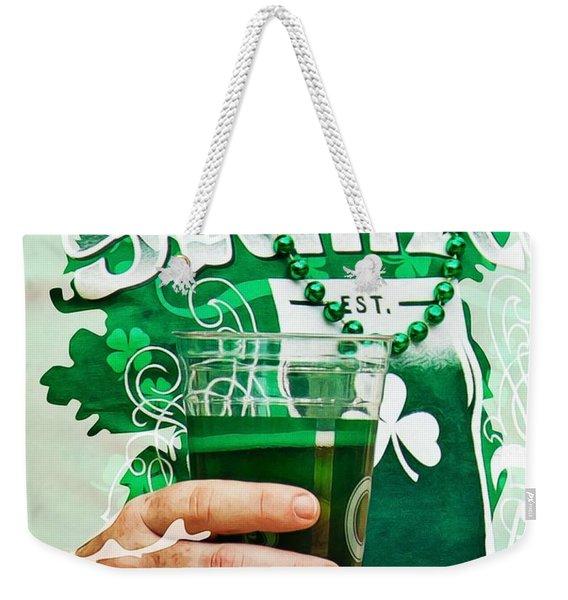 St. Patrick's Day Weekender Tote Bag
