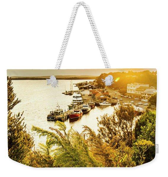 Strahan Sunset Weekender Tote Bag
