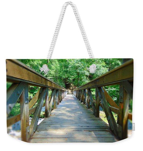 Straight - Narrow Weekender Tote Bag