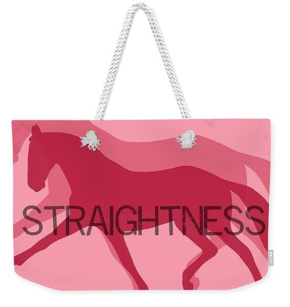 Straightness Duet Weekender Tote Bag