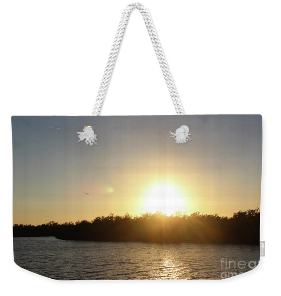 Strange Light Weekender Tote Bag