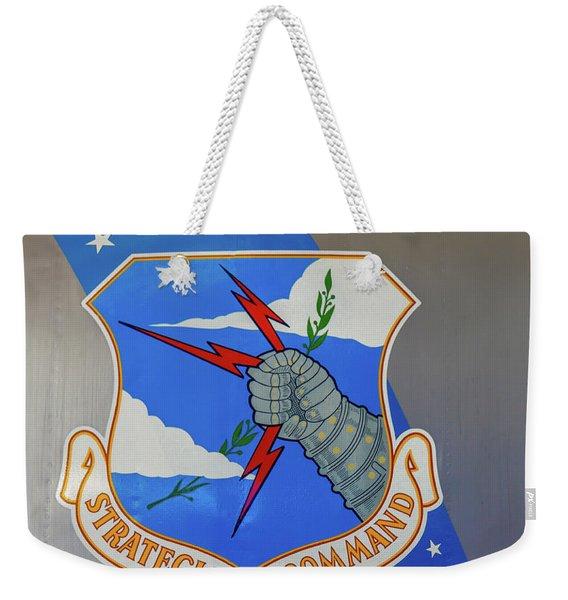 Strategic Air Command Weekender Tote Bag
