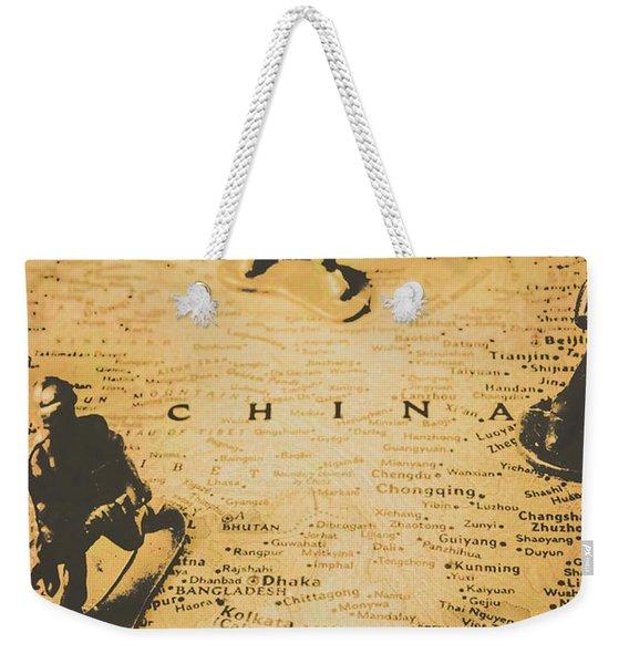 Strategy Of Wars Weekender Tote Bag