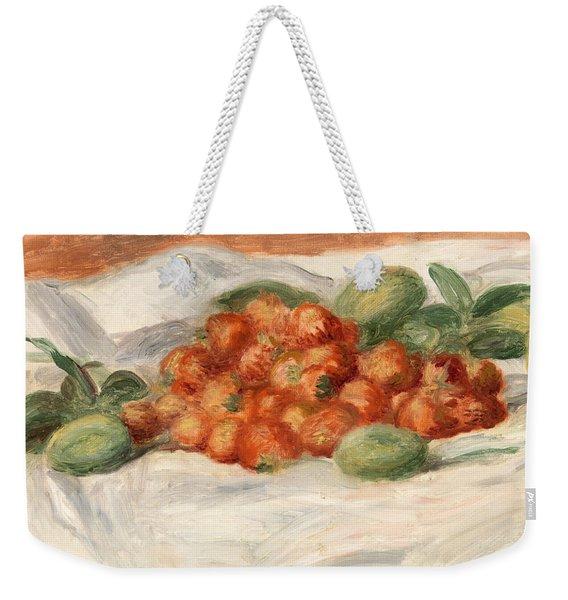 Strawberries And Almonds Weekender Tote Bag