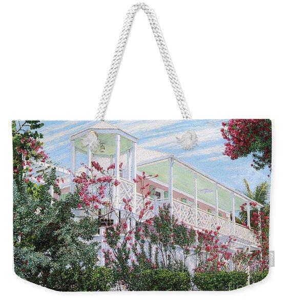 Strawberry House Weekender Tote Bag