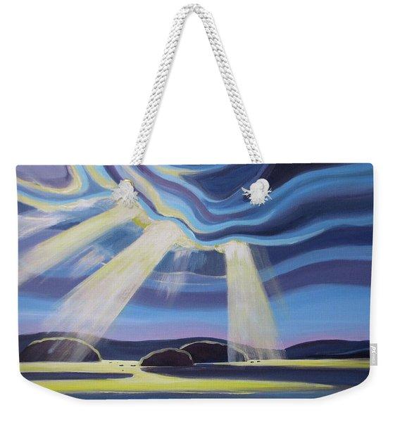 Streaming Light  Weekender Tote Bag
