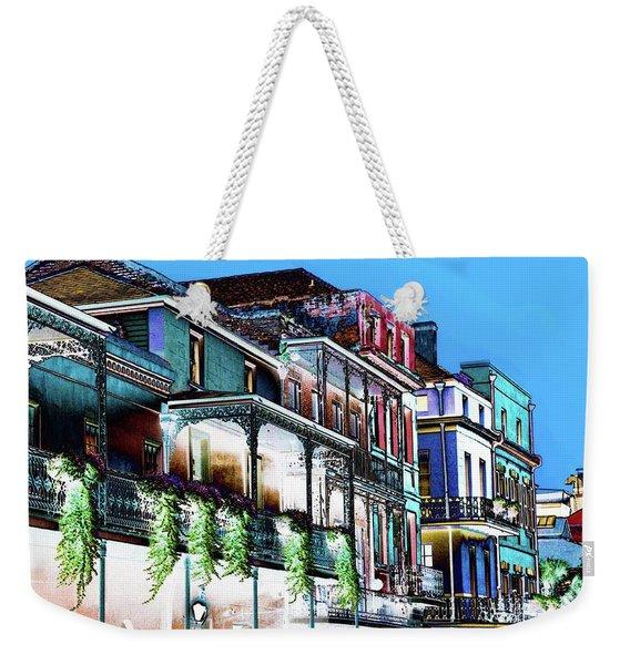 Street In New Orleans Weekender Tote Bag