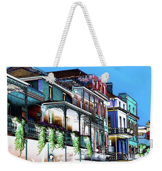 Street In New Orleans Weekender Tote Bag