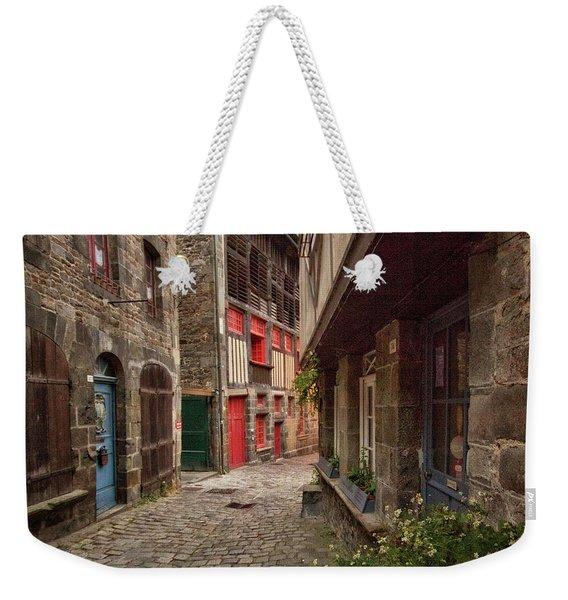 Street Of Dinan Weekender Tote Bag