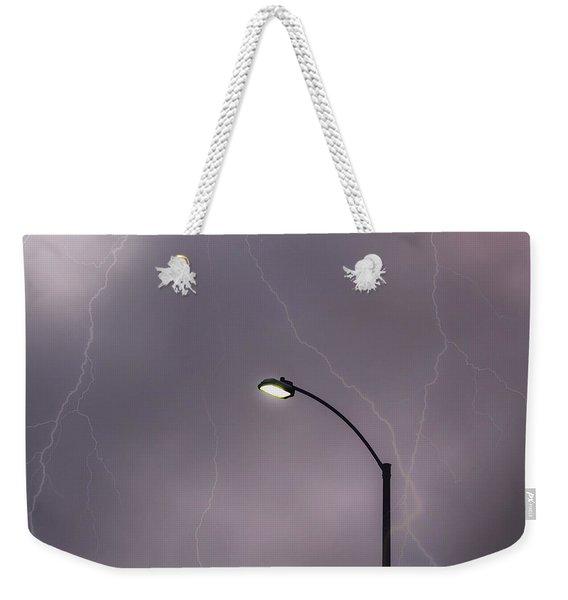 Streetlight Weekender Tote Bag