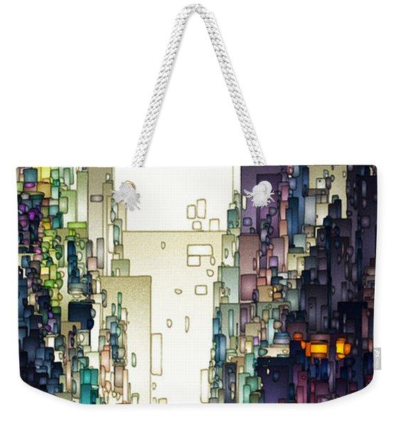 Streetscape 1 Weekender Tote Bag
