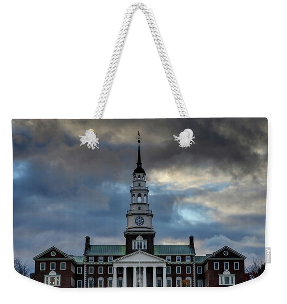 Strength In Turbulence - Cropped Weekender Tote Bag