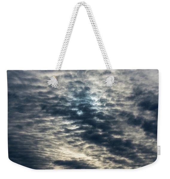 Striated Clouds Weekender Tote Bag