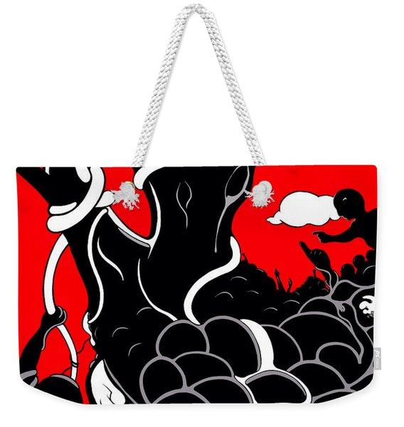 Strife Weekender Tote Bag