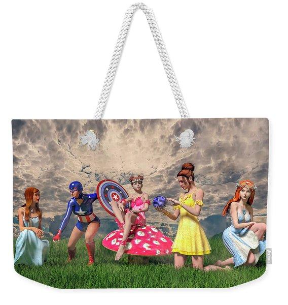 Strike A Pose Betsy C Knapp Weekender Tote Bag