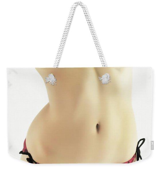 String Bikini Weekender Tote Bag
