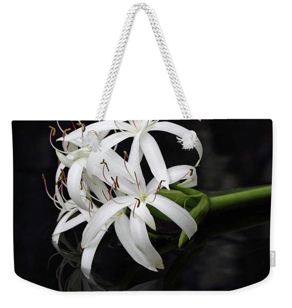 String Lily #1 Weekender Tote Bag