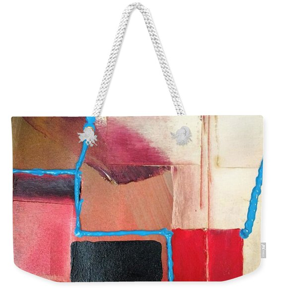 String Theory Abstraction Weekender Tote Bag