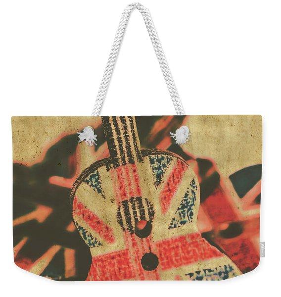 Stringed In Great Britain Weekender Tote Bag