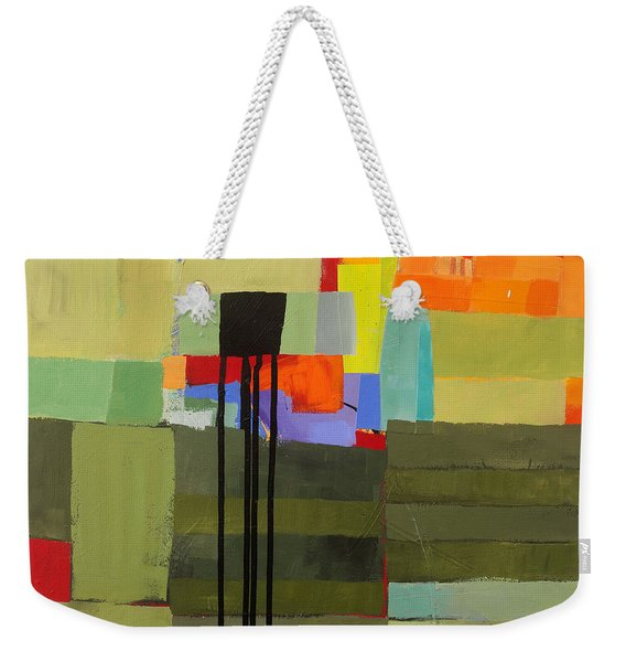 Stripes And Dips 1 Weekender Tote Bag