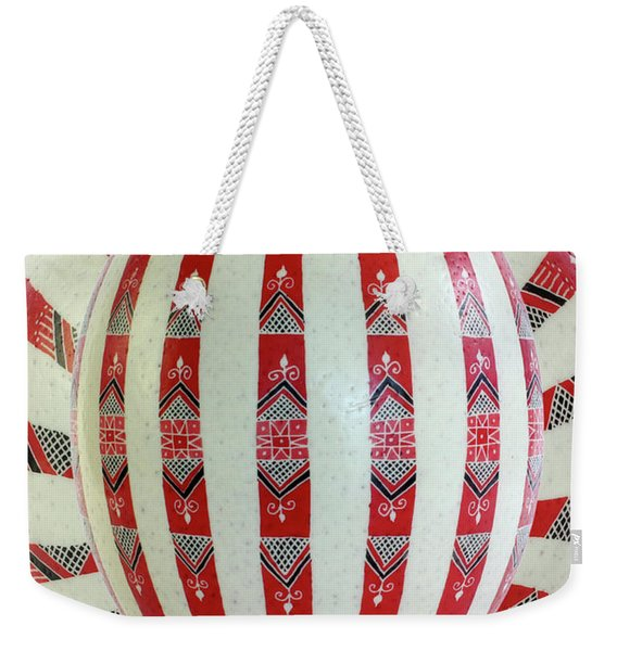 Stripes2 Weekender Tote Bag