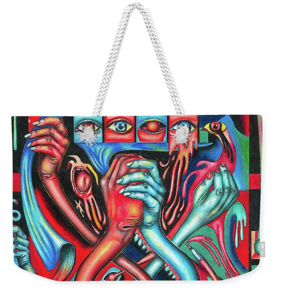 Striving For An Equilibrium Weekender Tote Bag