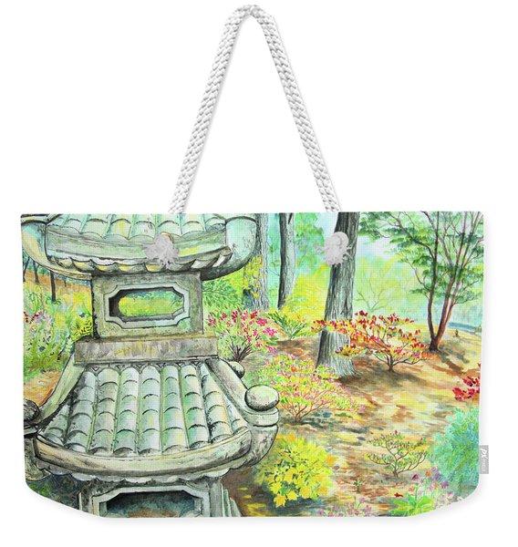 Strolling Through The Japanese Garden Weekender Tote Bag