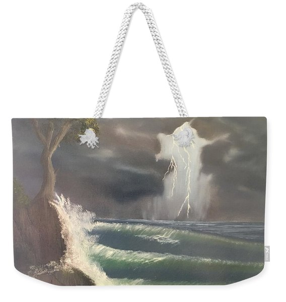 Strong Against The Storm Weekender Tote Bag