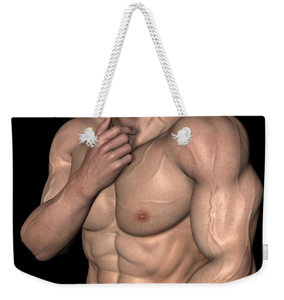 Studio Man Render 08 Weekender Tote Bag