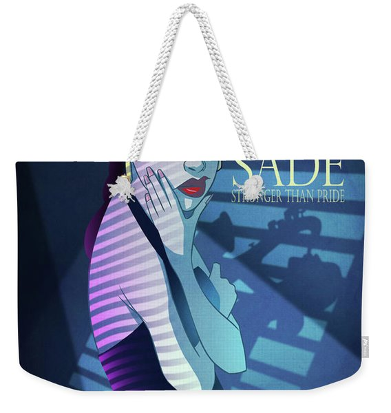 Weekender Tote Bag featuring the digital art Stronger Than Pride by Nelson Dedos Garcia