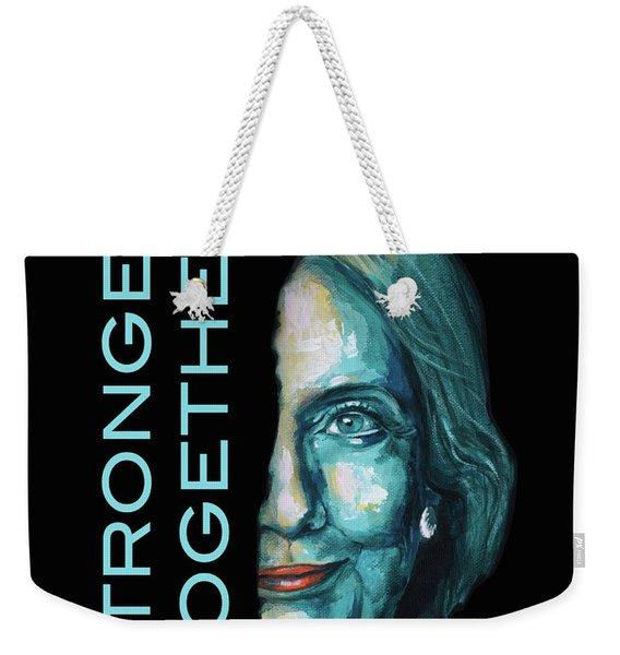 Stronger Together Weekender Tote Bag