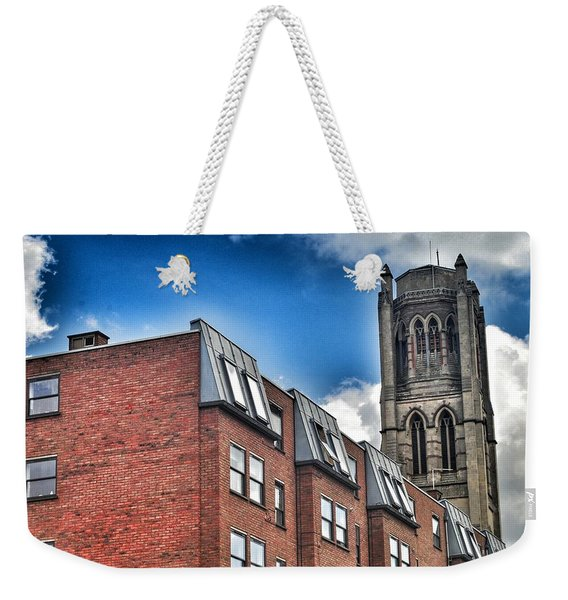 Structures In London 7.0 Weekender Tote Bag