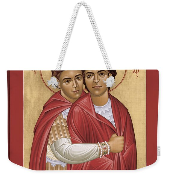 Sts. Polyeuct And Nearchus - Rlpan Weekender Tote Bag