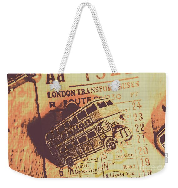 Stub Station Weekender Tote Bag