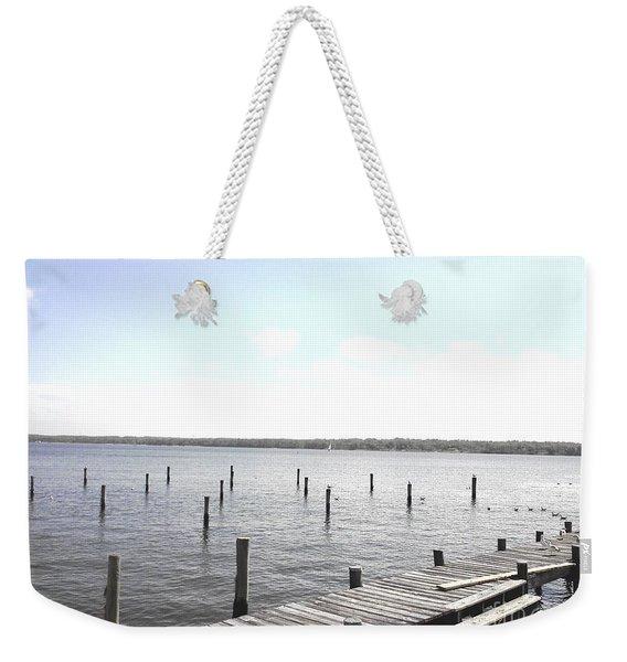 Stubs In Water Weekender Tote Bag