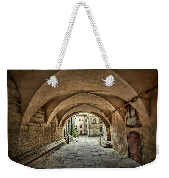 Stuck In The Middle Weekender Tote Bag