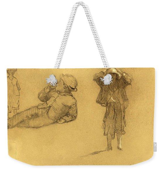 Studies Of Children Weekender Tote Bag