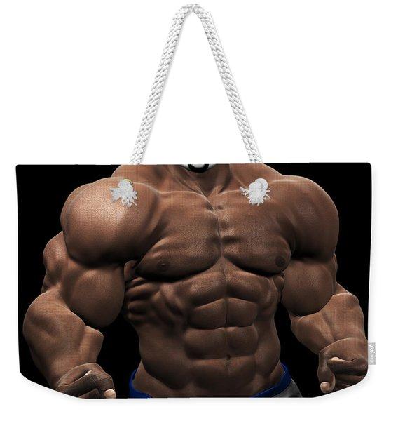 Studio Man Render 19 Weekender Tote Bag