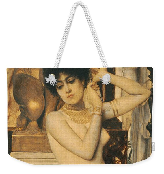 Study For Allegory Of Sculpture Weekender Tote Bag
