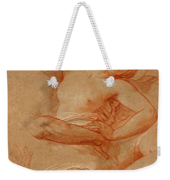 Study For Boreas Abducting Oreithyia Weekender Tote Bag