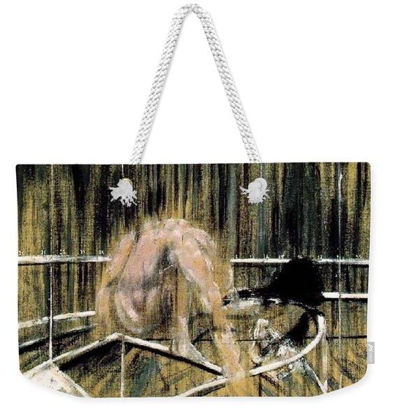 Study For Crouching Nude Weekender Tote Bag