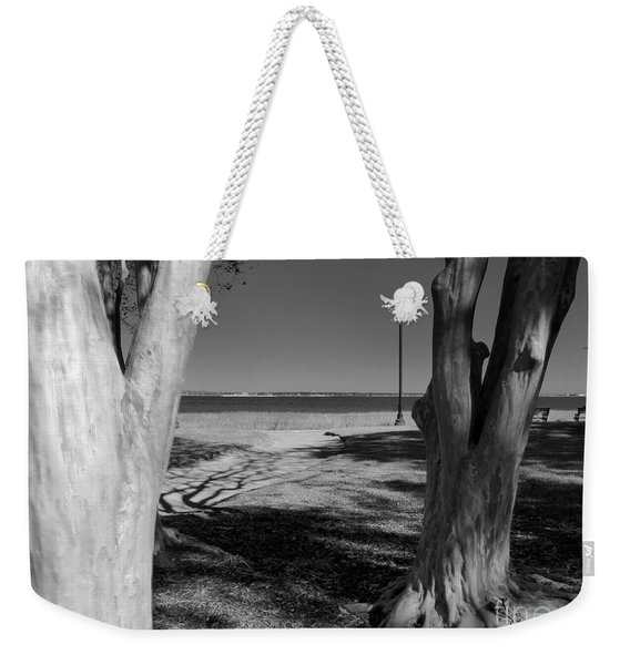 Study In Black And White Weekender Tote Bag