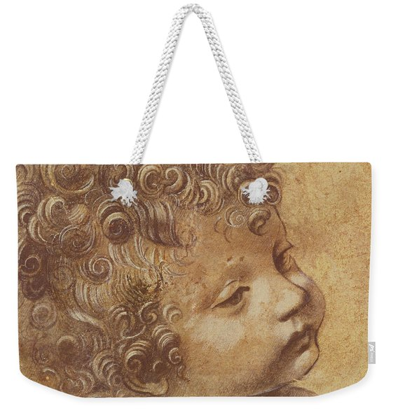 Study Of A Child's Head Weekender Tote Bag