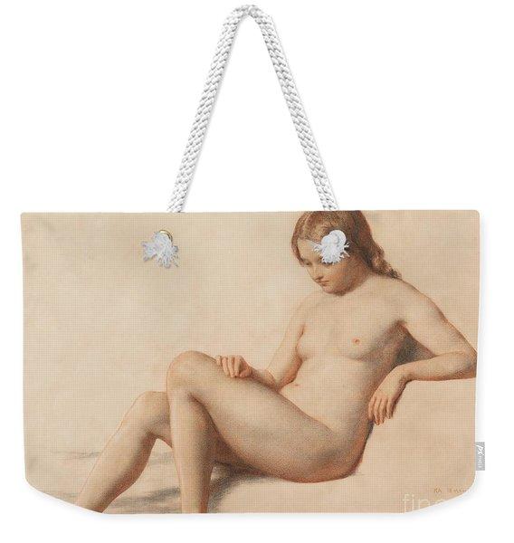 Study Of A Nude Weekender Tote Bag