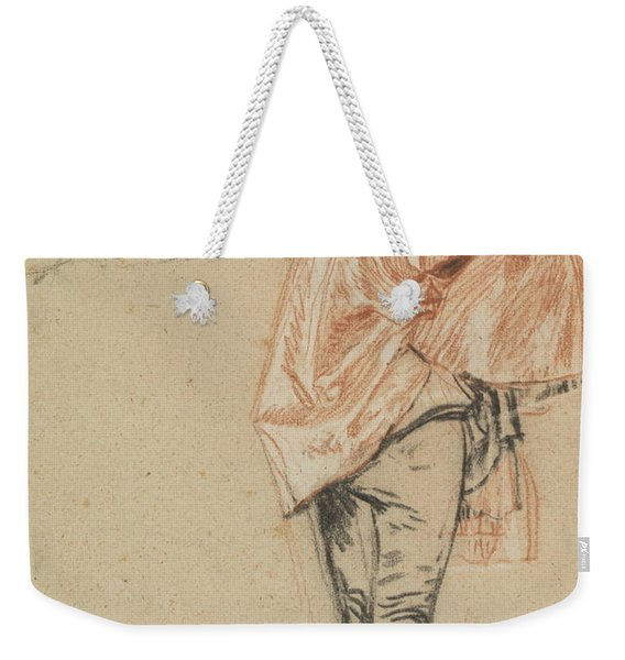 Study Of A Standing Dancer With An Outstretched Arm Weekender Tote Bag