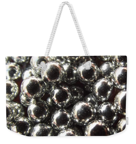 Study Of Bb's, An Abstract. Weekender Tote Bag