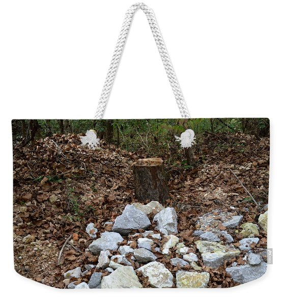 Stumped Weekender Tote Bag