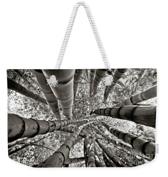 Stunning Bamboo Forest Weekender Tote Bag