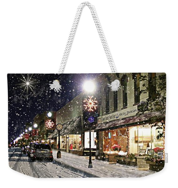 Sturgeon Bay On A Magical Night Weekender Tote Bag