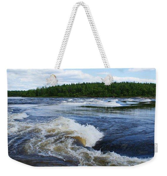 Sturgeon Falls Manitoba Weekender Tote Bag